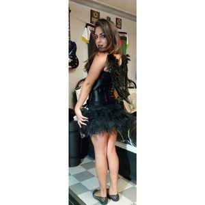 Zipper corset and petticoat